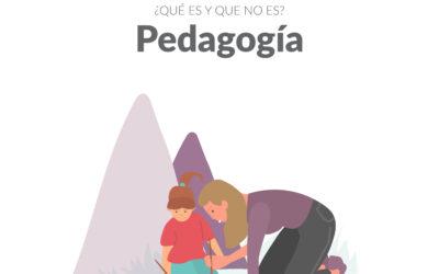 ¿CUÁL ES EL TRABAJO DEL PEDAGOGO/A?